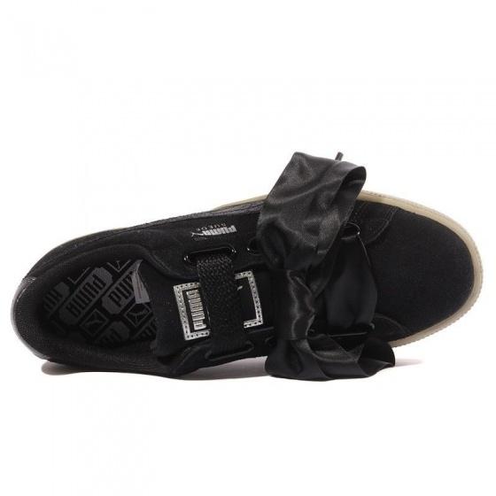 Puma Sneakers Suede Heart Safari Damen schwarz Internet Bikes