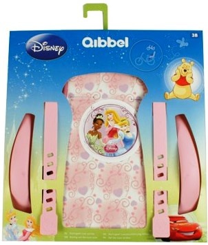 Qibbel Luxe Stylingset Fietszitje Achter Princess Dreams