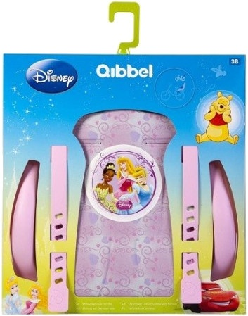Qibbel stylingset voor Qibbel achterzitje Disney Princess roze Q326