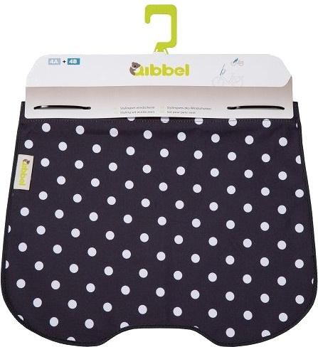 Qibbel stylingset voor Qibbel windscherm Polka Dot zwart Q737