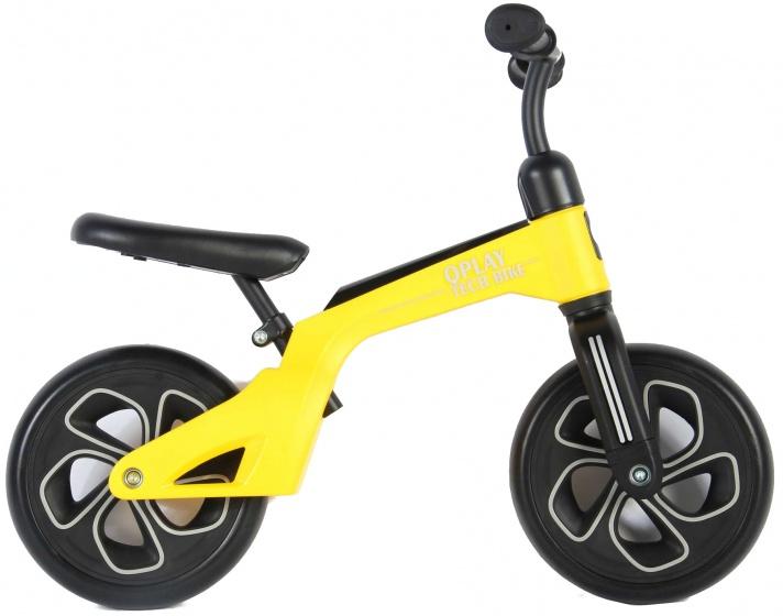 QPlay Balance bike 10 Inch Junior Geel