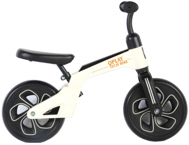 QPlay Balance Bike 10 Inch Junior Wit