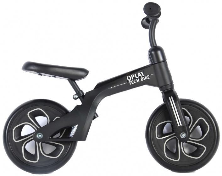 QPlay Balance Bike 10 Inch Junior Zwart