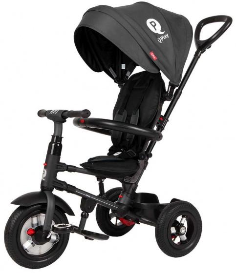 QPlay Rito Air Deluxe Junior Zwart
