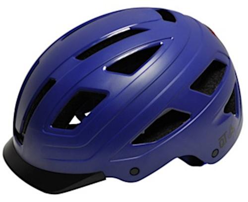 QT Cycletech fietshelm Urban Style donkerblauw maat 52 58 cm