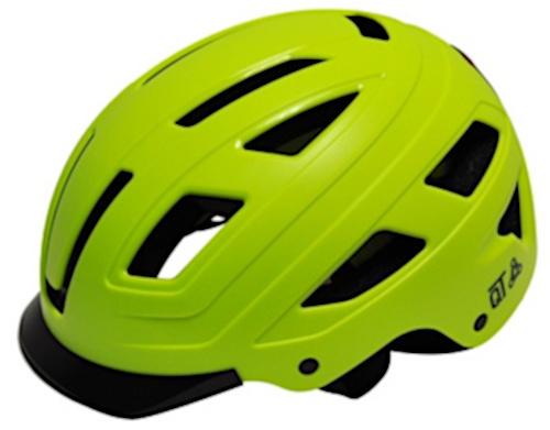 QT Cycletech fietshelm Urban Style groen maat 58 62 cm