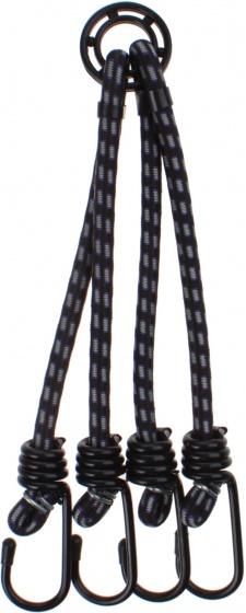 Quickly spinbinder 4 armig 9 mm 50 cm zwart/paars
