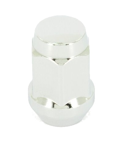 Racimex dopmoer M12 staal 35 mm chroom