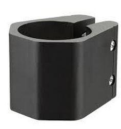 Razor Dubbel Coffin Klem Zwart 35 mm
