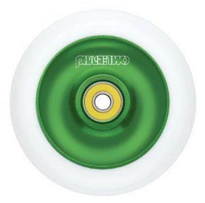 Razor Wiel 110 mm Solid Alloy Core groen / wit