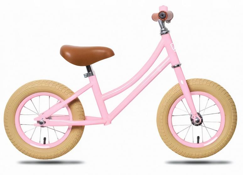 Rebel Kids loopfiets Emma 12 Inch Meisjes Roze