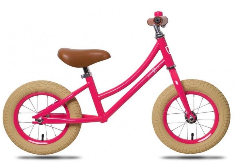 Rebel Kids loopfiets Julia 12 Inch Meisjes Roze