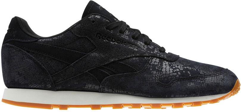 Schwarz Exotic Sneakers Classic Clean Leather Damen RqLc4AS53j
