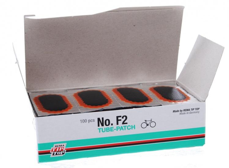 Rema Tip Top Reparatiepleister Fietsband F2 43x17 mm 100 St.