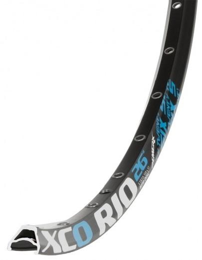 Remerx Velg XCO Rio 26 inch aluminium 32G zwart