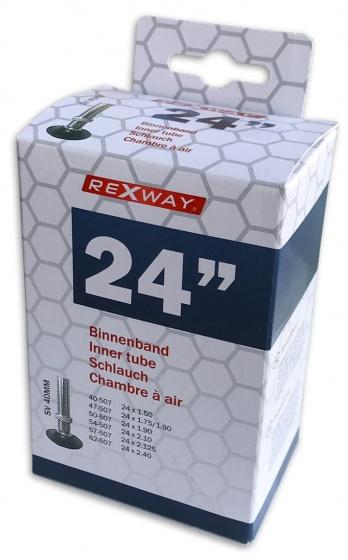 Rexway binnenband 24 inch (40/62 507) AV 40 mm zwart