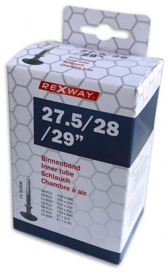 Rexway binnenband 27.5/29 inch (18/28 622 630) FV 50 mm zwart