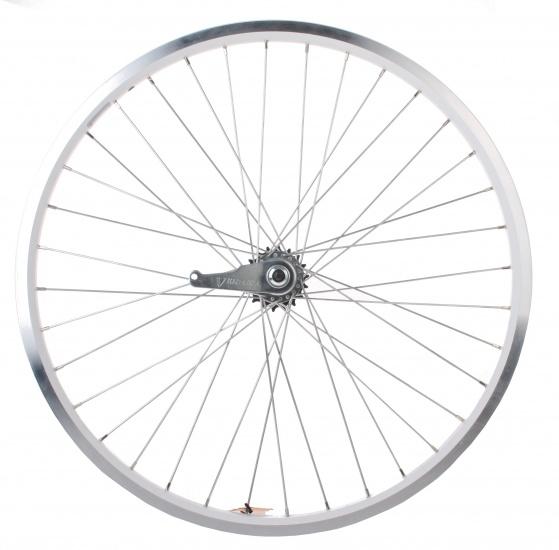 Rigida achterwiel 26 inch terugtraprem 36G wit staal