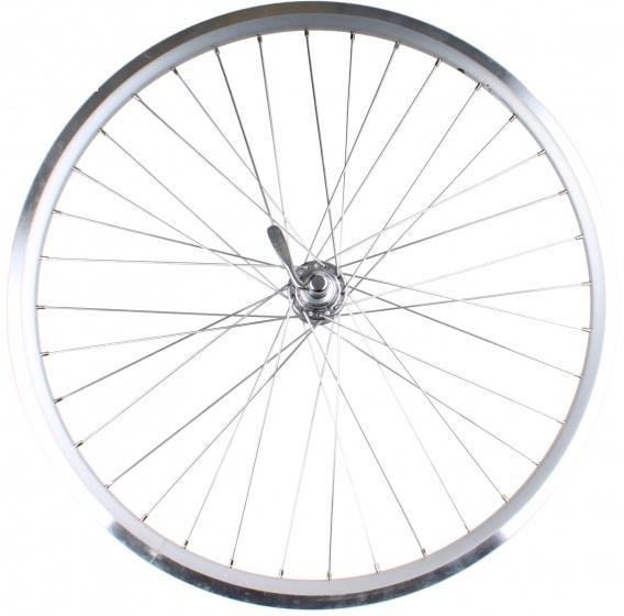 Rigida achterwiel X Plorer 26 inch velgrem freewheel zilver