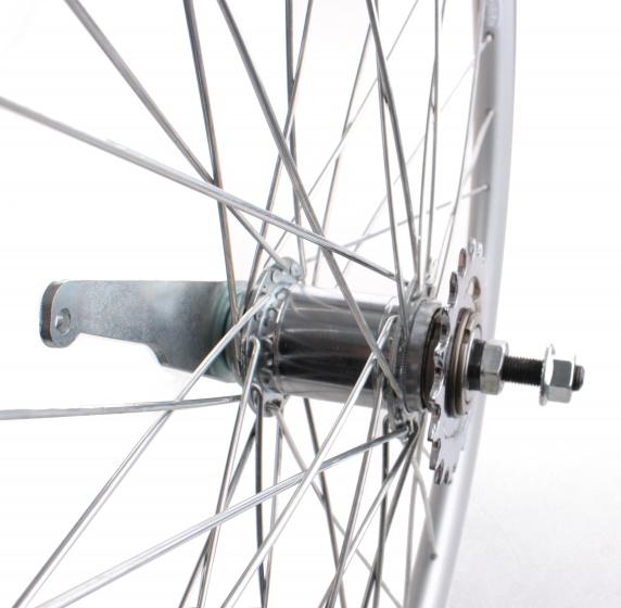 Rigida achterwiel X Plorer 26 x 1.75 inch terugtraprem zilver