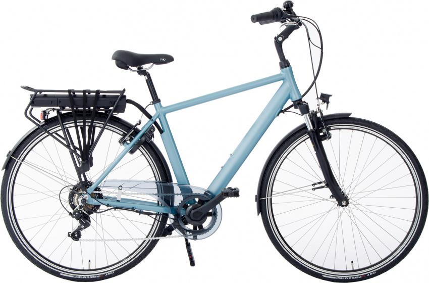 Rivella Rio 28 Inch 50 cm Heren 7V V Brakes Aqua - Elektrische fiets