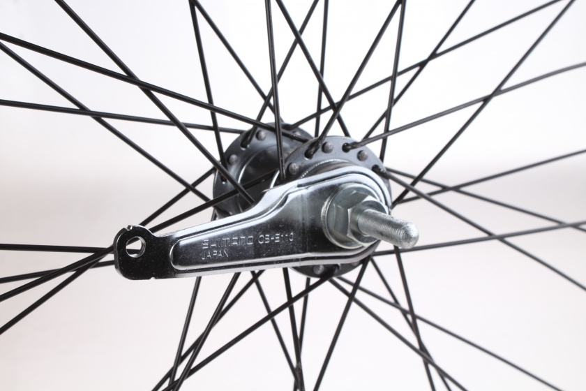Rodi achterwiel 28 inch 36G terugtraprem aluminium zwart