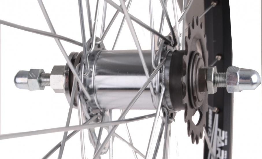 Rodi Achterwiel Parallex 28 inch terugtraprem aluminium 36G zwart