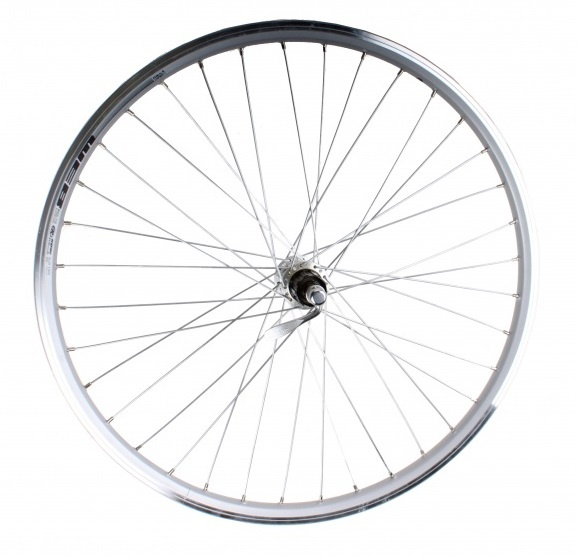 Rodi achterwiel Web 26 inch velgrem 7S zilver