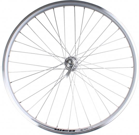 Rodi achterwiel Web 26 inch velgrem snelspanner zilver