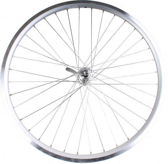 Rodi achterwiel Web 26 inch velgrem zilver