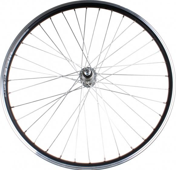 Rodi achterwiel Web 26 inch velgrem zwart/zilver