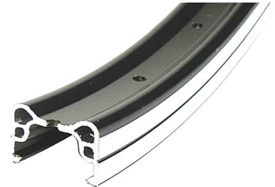 Rodi Velg Parallex 26 x 1.75 Aluminium 36G Zwart
