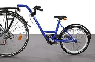 Roland - Aanhangfiets Add+bike 20 Inch Junior 3v Blauw