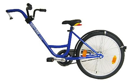 Roland Add aanhangfiets freewheel 20 Inch Junior Blauw
