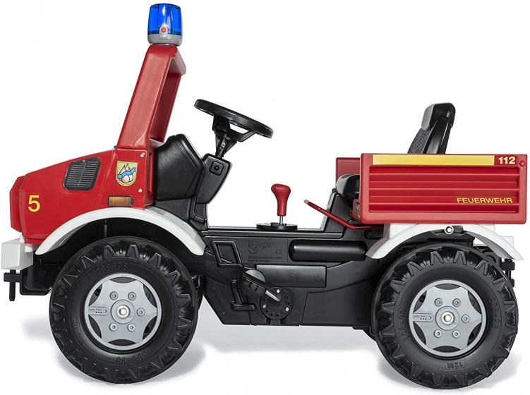 Rolly Toys RollyUnimog Fire Junior Donkergroen/Geel