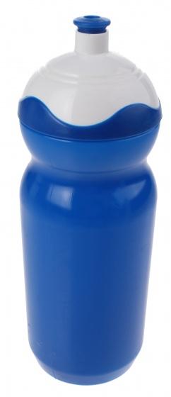 Roto bidon blauw/wit 600 ml
