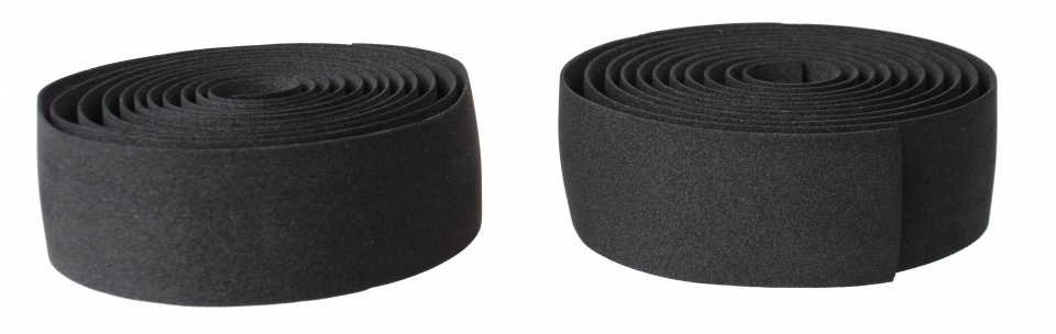 Roto stuurlint 175 cm 2 stuks zwart