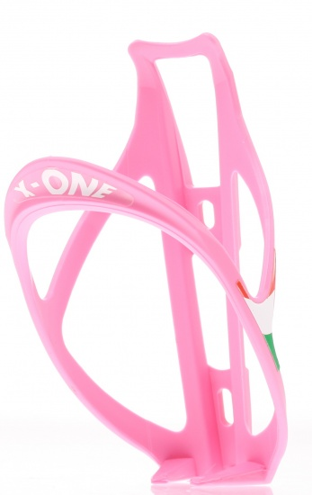 Roto X One Kunststof Bidonhouder 25 Gram Roze