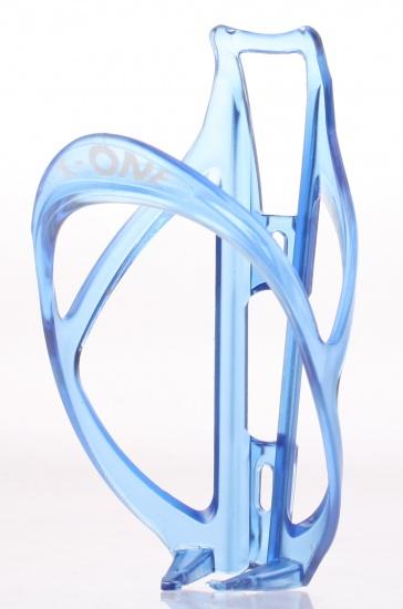 Roto X One Frost Kunststof Bidonhouder 35 Gram Blauw