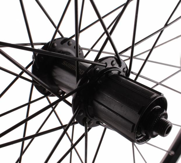 Ryde achterwiel 20 x 1.75 inch 8/9V uitval velg 36G zwart