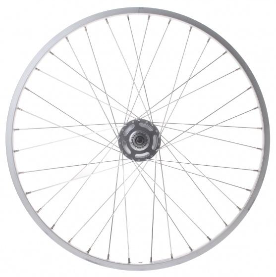 Ryde achterwiel 26 inch rollerbrake 36G aluminium zilver