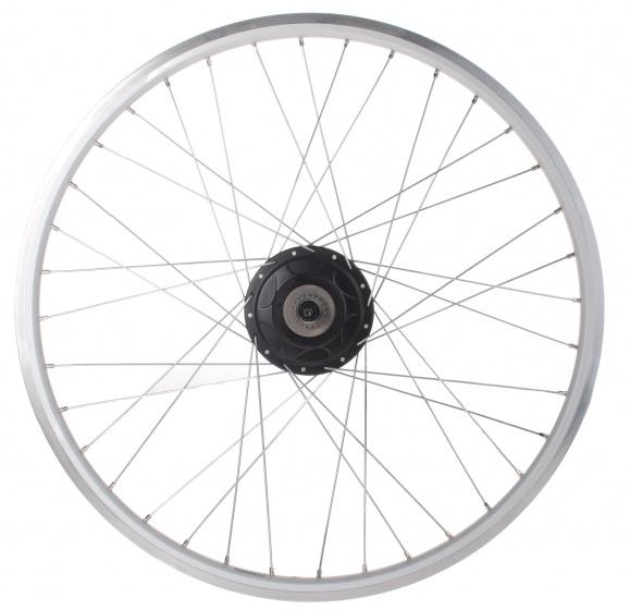 Ryde achterwiel Andra 10 28 inch Nuvinci aluminium 36G zilver