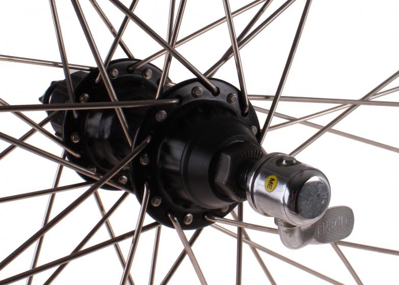 Ryde achterwiel ZAC19 28 inch 7S velgrem aluminium zwart