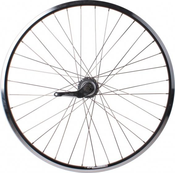Ryde achterwiel Zac 19 26 inch terugtraprem 36G alu zwart/zilver