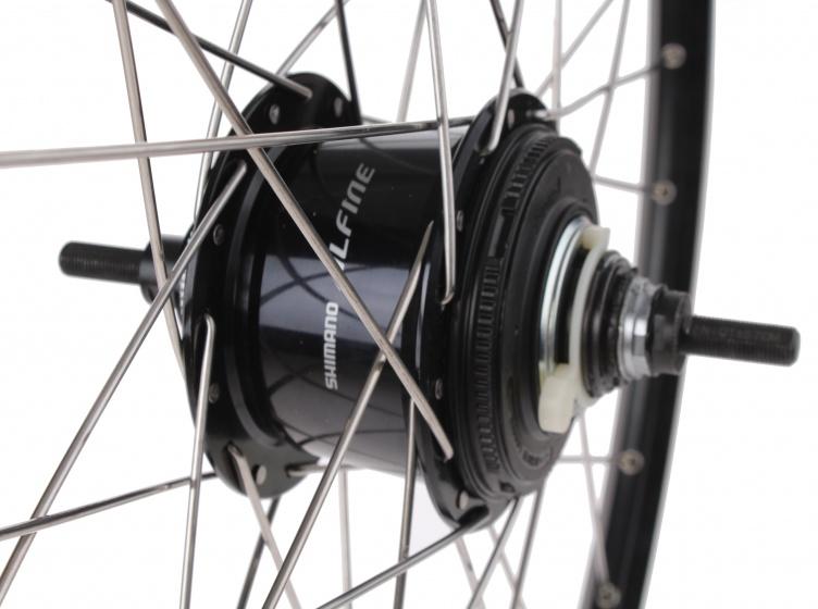 Ryde achterwiel Zac 2000 26 inch schijfrem 36G aluminium zwart