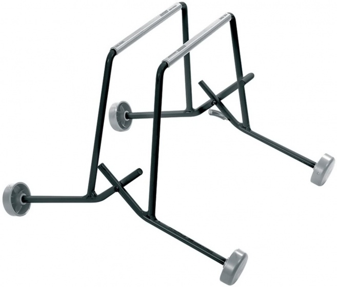 Saccon etalagestandaard Pony staal zwart 4 stuks