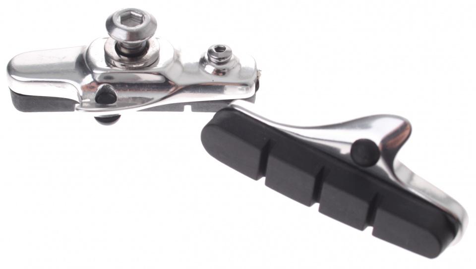 Saccon remblokken V brake 55 x 10 mm zwart 2 stuks