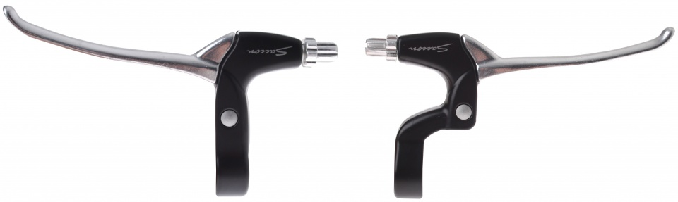 Saccon remgrepen set Shimano Nexus V brake 4 vinger zil/zwa