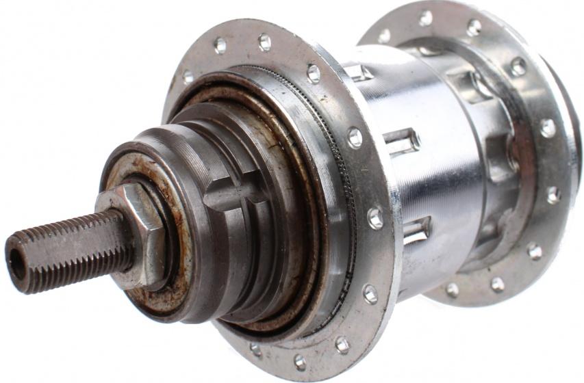 Sachs versnellingsnaaf Torpedo 3V staal zilver