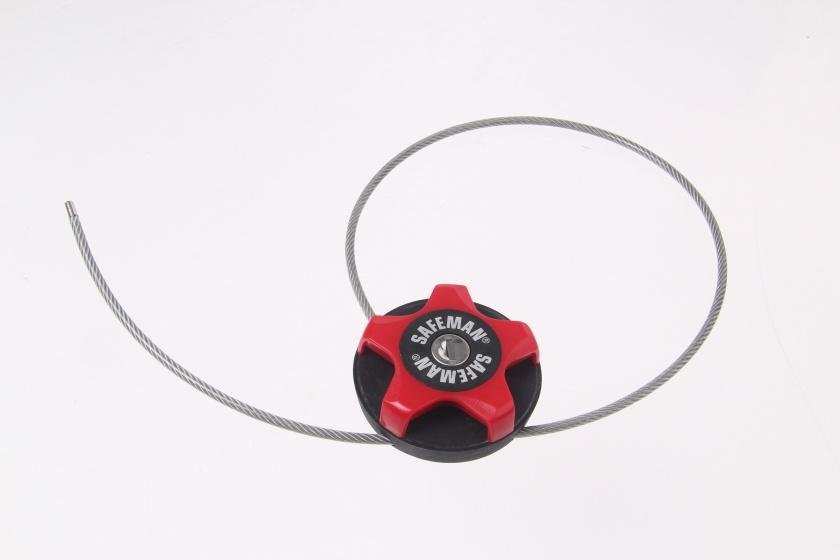 Safeman Kabelslot multifunctioneel 750 x 4 mm rood